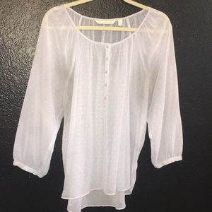 Sheer Lauren Conrad Blouse.